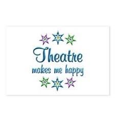 Theatre Happy Postcards (Package of 8)