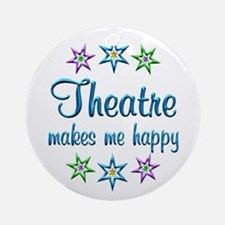 Theatre Happy Ornament (Round)