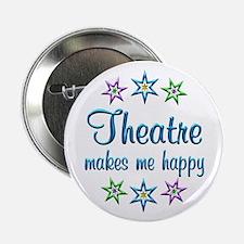 """Theatre Happy 2.25"""" Button"""