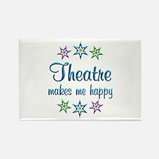 Theatre Happy Rectangle Magnet