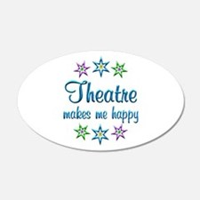 Theatre Happy Wall Decal
