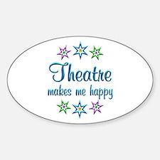 Theatre Happy Decal