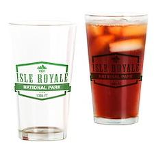 Isle Royale National Park, Michigan Drinking Glass