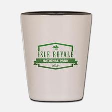 Isle Royale National Park, Michigan Shot Glass