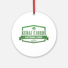 Kenai Fjords National Park, Alaska Ornament (Round