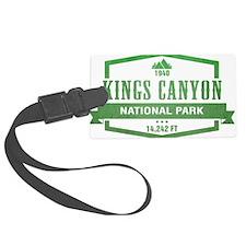 Kings Canyon National Park, California Luggage Tag