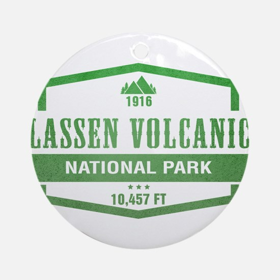 Lassen Volcanic National Park, California Ornament
