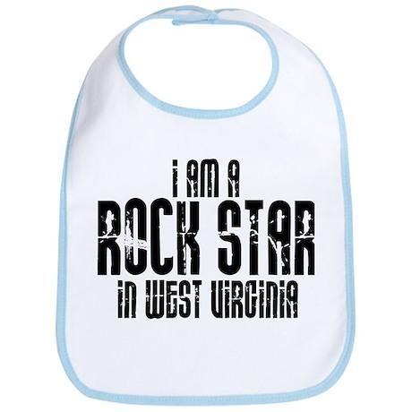 Rock Star In West Virginia Bib