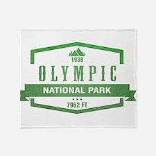 Olympic National Park, Washington Throw Blanket