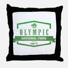 Olympic National Park, Washington Throw Pillow