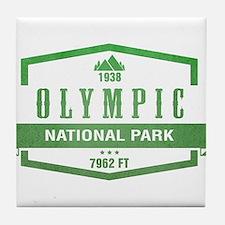 Olympic National Park, Washington Tile Coaster