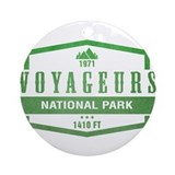 Voyageur 27s national park Round Ornaments