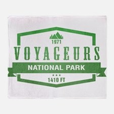 Voyageurs National Park, Minnesota Throw Blanket