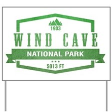 Wind Cave National Park, South Dakota Yard Sign
