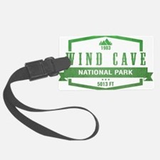 Wind Cave National Park, South Dakota Luggage Tag