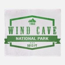 Wind Cave National Park, South Dakota Throw Blanke
