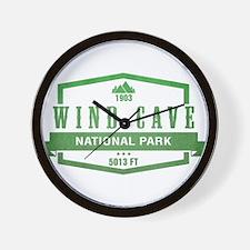 Wind Cave National Park, South Dakota Wall Clock