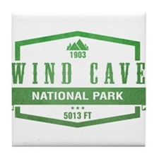Wind Cave National Park, South Dakota Tile Coaster