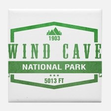 Wind Cave National Park, South Dakota Tile Coaster