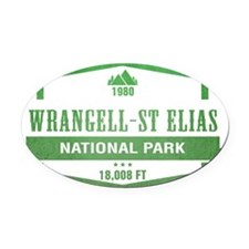 Wrangell–St. Elias National Park, Alaska Oval Car