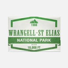 Wrangell–St. Elias National Park, Alaska Magnets