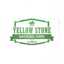 Yellow Stone National Park, Wyoming Aluminum Licen