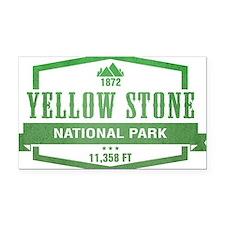 Yellow Stone National Park, Wyoming Rectangle Car