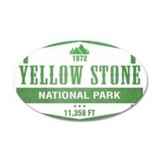 Yellow Stone National Park, Wyoming Wall Decal