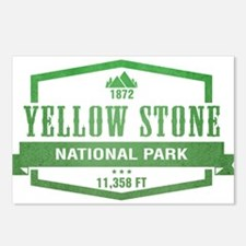 Yellow Stone National Park, Wyoming Postcards (Pac
