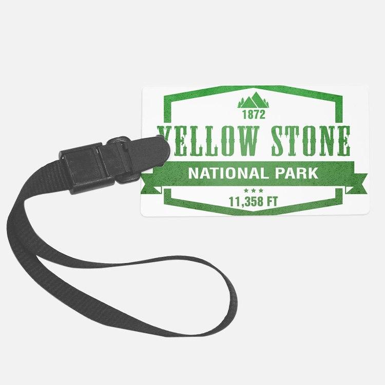 Yellow Stone National Park, Wyoming Luggage Tag