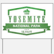 Yosemite National Park, California Yard Sign
