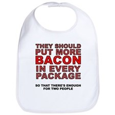 More Bacon In Every Package Bib
