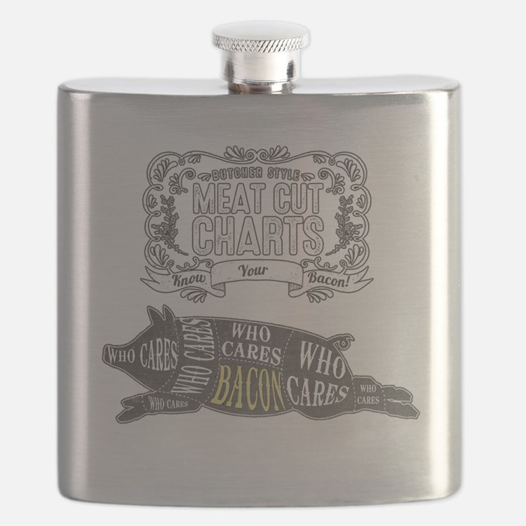 BACON; The Perfect Cut of Meat Flask