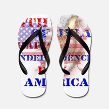 RightOn Independence Day Flip Flops