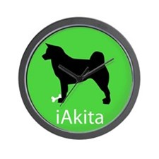 iAkita Wall Clock