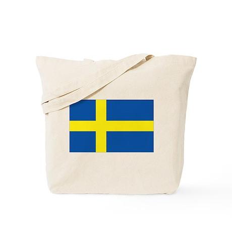 Flag Swedish Tote Bag
