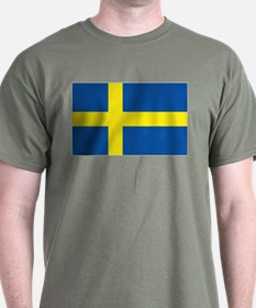 Flag Swedish T-Shirt