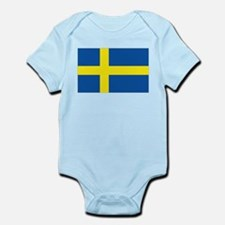 Flag Swedish Infant Bodysuit