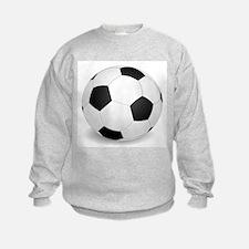 soccer ball large Sweatshirt