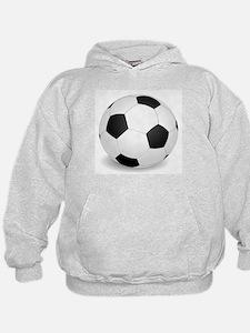 soccer ball large Hoodie