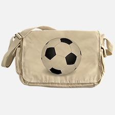 soccer ball large Messenger Bag