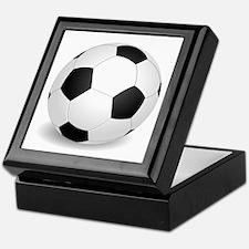 soccer ball large Keepsake Box