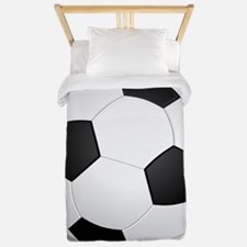 soccer ball large Twin Duvet