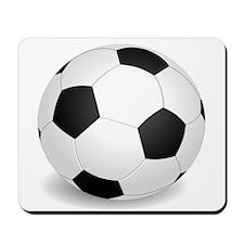 soccer ball large Mousepad