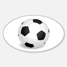 soccer ball large Decal