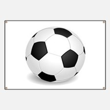 soccer ball large Banner