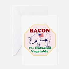 Bacon, The National Vegetable Greeting Cards