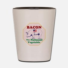 Bacon, The National Vegetable Shot Glass