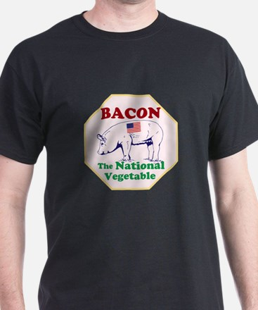 Bacon, The National Vegetable T-Shirt