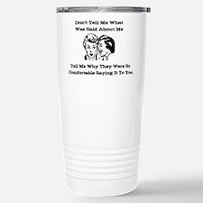 Gossip Travel Mug